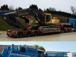 międzynarodwowy TRANSPORT maszyn rolniczych i budowlanych - zdjęcie 1