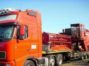 Transport maszyn rolnicych z Francji, Beneluxu, Niemiec - zdjęcie 1