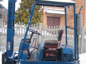 Wózek widłowy HYSTER, 1.25T, spalinowy, manualny, UDT, TANI - zdjęcie 1