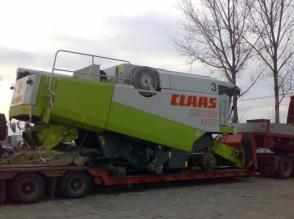 Transport koparek i maszyn rolniczych z Francji, Niemiec, Holandii. - zdjęcie 1