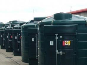 Zbiorniki na olej napędowy, dwupłaszczowe mikrostacje - zdjęcie 1