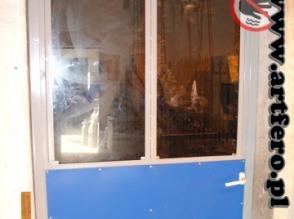 Drzwi gospodarcze inwentarskie drzwi do obór przejściowe  - zdjęcie 1