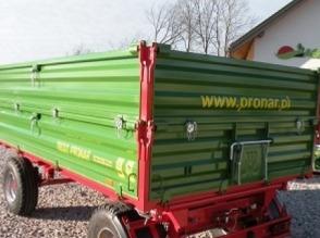 Przyczepa rolnicza Pronar T653/2 6 T cena do negocjacji - zdjęcie 1