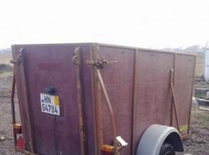 przyczepa do transportu zwierząt - zdjęcie 1