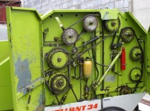 Prasa Claas rollant 34 ,baloty 90x120.STAN IDEALNY - zdjęcie 1