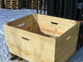 skrzynio-palety drewniane - zdjęcie 1