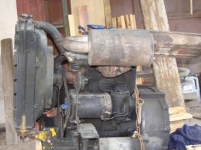 Silnik Ursus C-330 - zdjęcie 1