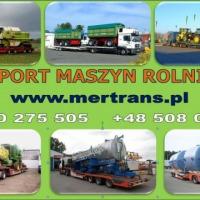 TRANSPORT MASZYN ROLNICZYCH - zdjęcie 1
