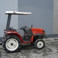 mini Traktorek japonski YANMAR F7 z dachem  17KM 4x4 - zdjęcie 1