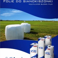 Folia do sianokiszonki  AeroWrap 500   25 mic, filtrUV - zdjęcie 1