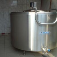 SPRZEDAM SCHŁADZALNIK zbiornik na mleko 600 l PZL Krosno - zdjęcie 1
