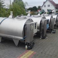Zbiorniki schładzalniki do mleka od 400 do 7000l - zdjęcie 1