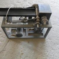 Maszyna do ciecia całęgo liscia tytoniu ziół itp Nozowa 40kg/h gilotyna - zdjęcie 1