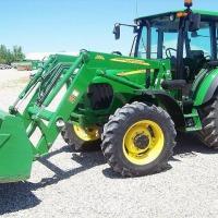 JOHN DEERE 5525 ciągnik rolniczy  / 2008  - zdjęcie 1