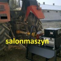 AGREGATY PRĄDOTWÓRCZE na przekaźnik WOM ciągnika, włoskiej firmy LINZ ELECTRIC - zdjęcie 1