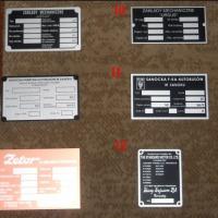 Tabliczki znamionowe URSUS C330 C360 i inne - zdjęcie 1