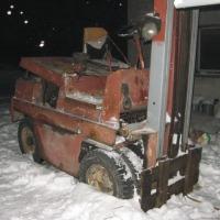 Wózek  Widłowy  GPW Gliwice 2009P udźwig  2.5 tony, bliźniacze koła - zdjęcie 1