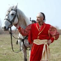 Ukraina.Stajnia koni w malowniczej miescowosci.Tanio - zdjęcie 1