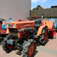 Mini ciągniczek ogrodniczy Kubota 7001D Traktorek japoński 4x4 - zdjęcie 1