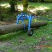 Wózek do transportu kłody drewna - zdjęcie 1