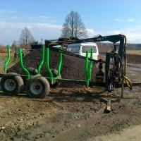 Przyczepa do zrywki,transportu drewna FAO FAR 2241E - zdjęcie 1