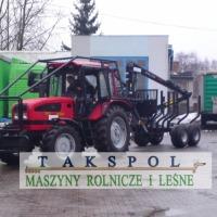 Nowe ciągniki do pracy w lesie -MTZ  - zdjęcie 1