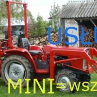 usługi biała podlaska minikoparkoładowarka mini koparka mini ładowarka tanio i wszędzie - zdjęcie 1