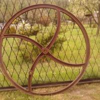 Koło żeliwne sieczkarni - zdjęcie 1