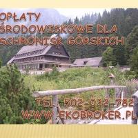 Opłaty środowiskowe dla schronisk górskich - zdjęcie 1