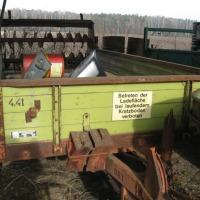 Sprzedam rozrzutnik roztrząsacz jednoosiowy Bergmann 4,4 t - zdjęcie 1