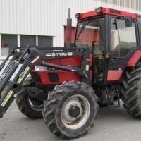 Ciągniki rolnicze Case IH 424 z ładowaczem - zdjęcie 1