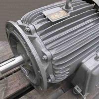 Silnik elektryczny 18 kW 3 biegowy 750, 1500, i 2800 obr/min kołnierzowy - zdjęcie 1