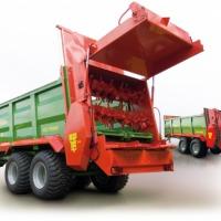 Rozrzutnik obornika wapna kompostu Pronar N 262/1 - zdjęcie 1