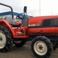 Traktorek japoński Kubota GL 200 - zdjęcie 1