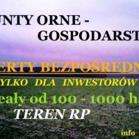 Grunty orne - gospodarstwa do 1000 ha i większe - zdjęcie 1