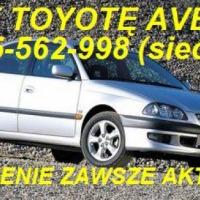 Kupię Toyotę Corolle E8 E9 E10 E11 E12 E13 E15 kupie Toyotę Avensis tel.725 562 998 (sieć Plus) kupię Toyotę Avensis Carine Yaris Starlet Picnic i inne mogą być uszkodzone do remontu lub poprawek blacharsko-lakierniczych. kupie mercedesa 190 W201 124 W124 - zdjęcie 1