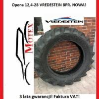 Promocja! Opona 12,4-28 VREDESTEIN 8PR Zam. 12,4R28 320/85R28 Nowa FV! - zdjęcie 1
