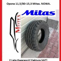 Opona 11,5/80-15,3 12PR MITAS. Nowa Faktura VAT! - zdjęcie 1