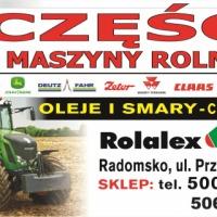 AGRO części zamienne do maszyn rolniczych traktorów pras kombajnów - zdjęcie 1