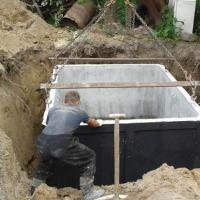 SZAMBA BETONOWE 4m3,zbiornik na ścieki / szambo, deszczówkę, gnojówkę i gnojowicę.  - zdjęcie 1