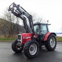 Sprzedam Ciągnik rolniczy Massey Ferguson 6I8O - zdjęcie 1