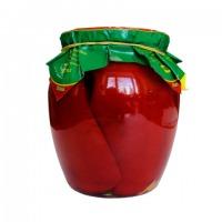 Ukraina. Delikatesy w postaci konserwowanej, kukurydza cukrowa, grzyby lesne, groszek zielony, ogorki korniszony, tomaty cherry, ikra kabaczkowa, patisony duszone z papryka, baklazany z pomidorami. Produkujemy na zamowienie konserwy owocowo-warzywne pod  - zdjęcie 1