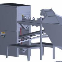 Maszyna do obierania cebuli na biało PMK P100 - zdjęcie 1