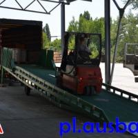 Rampa mobilna Ausbau dla wózka widłowego - zdjęcie 1