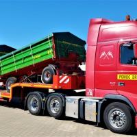 Transport kombajnów rolniczych ciągników ładowarek - zdjęcie 1