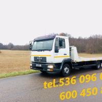 Autolaweta Laweta Pomoc drogowa Transport - zdjęcie 1