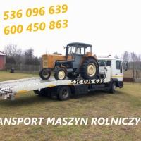 Transport maszyn rolniczych budowlanych / Laweta Pomoc Drogowa - zdjęcie 1
