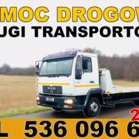 Autolaweta - Transport 3t 4t 5t 6t - Pomoc Drogowa - Przewóz maszyn i samochodów - Wrzesiński Piotr - zdjęcie 1